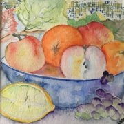 Fruit Bowl by Wendy Nimmo