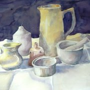 Study in White by Judith Redpath