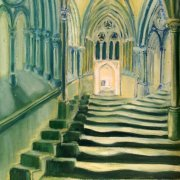 Wells Cathedral by Isobel Cherry