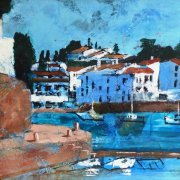 Across the Harbour Cadaques by Tracy Dudley