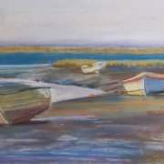 Winter Afternoon, North Norfolk, by Tracy Dudley
