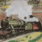 Steam Train by Jim Draycott